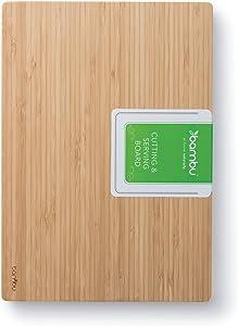 bambu, Undercut Bamboo Cutting & Serving Board, Food-Safe Kitchen Tool - Medium, 10