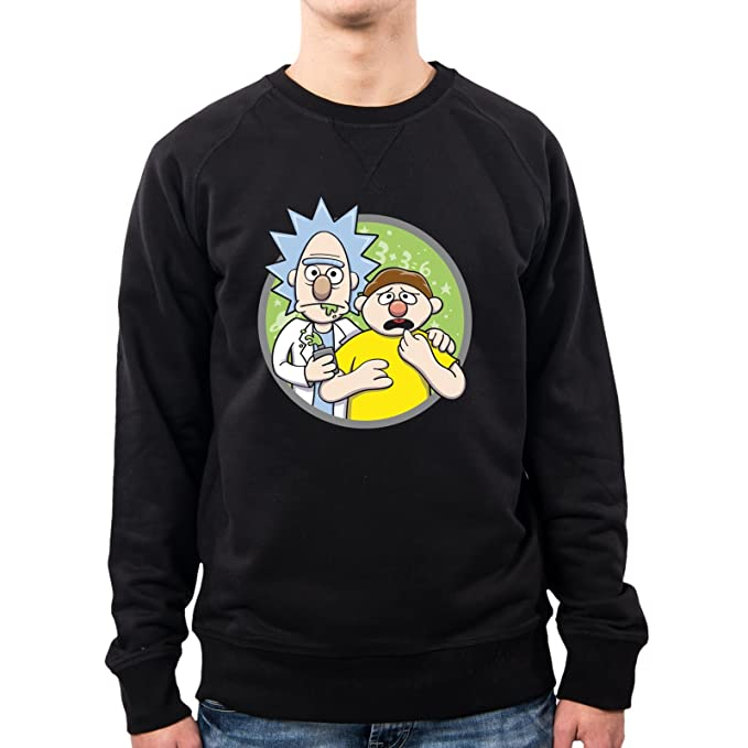PacDesign Sudadera Hombre Brickt and Mortie Rick and Morty Op0004a: Amazon.es: Ropa y accesorios