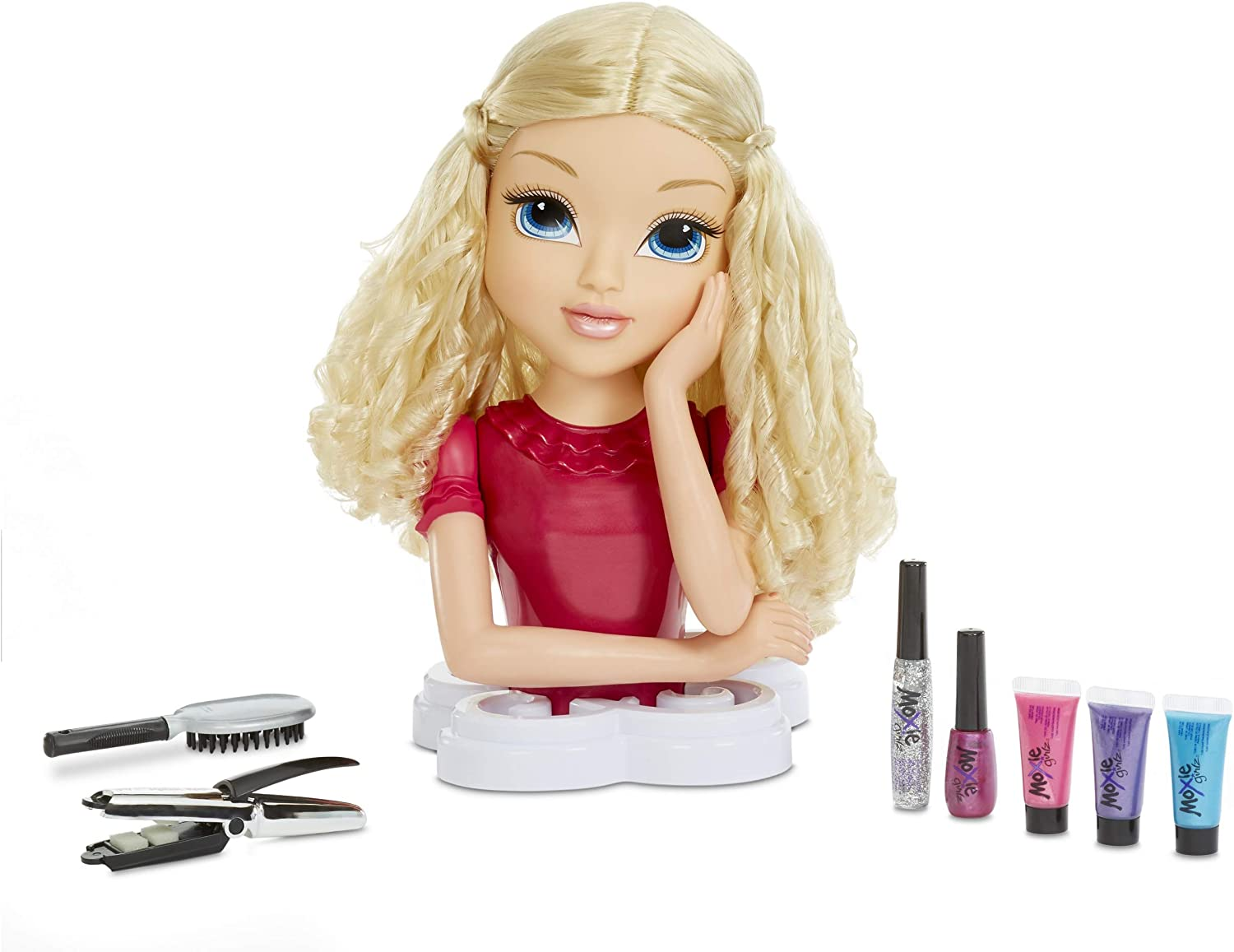 Moxie Girlz Magic Hair Makeover Avery 4-in-1 Styling Head