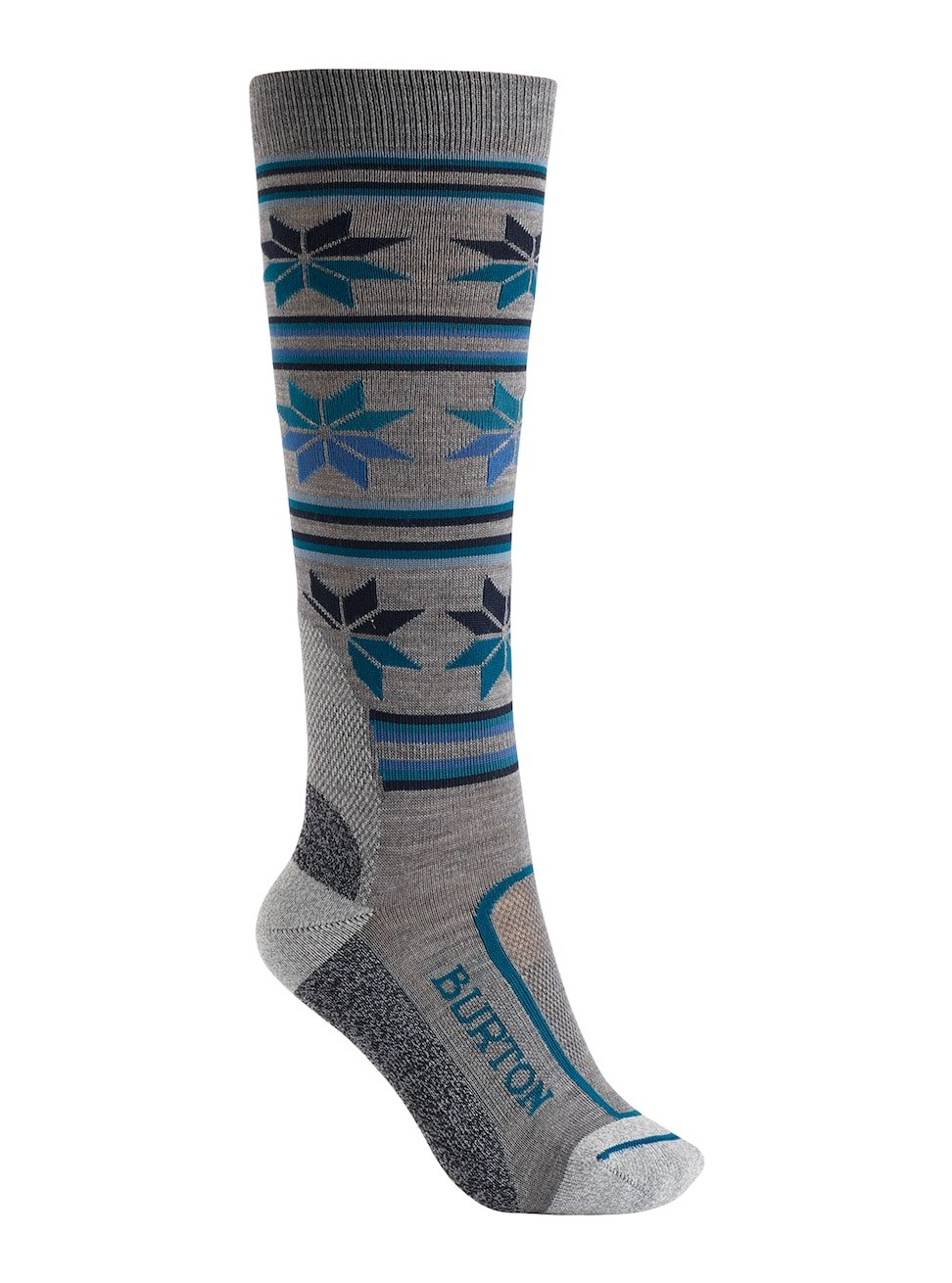Burton Women's Ultralight Wool Sock Monument Heather Size S/M US 4-7 by Burton