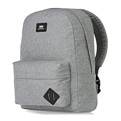 Vans Old Skool II - Mochila Casual, Unisex, Gris (Heather Suiting), 22 litros, 42 cm