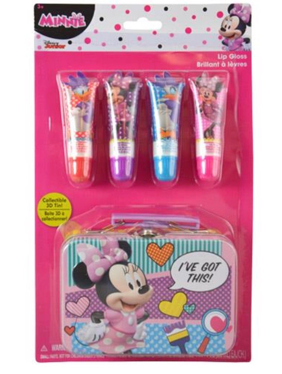 Disney Princess or Minnie Mouse 4 Pack Lip Gloss For Girl (3+ Years) (Disney Minnie Mouse) china