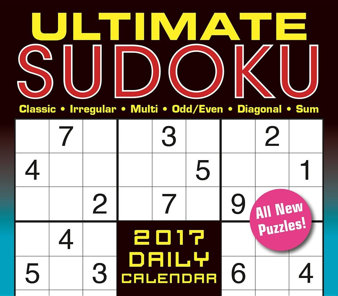 Ultimate Sudoku 2017 Boxed/Daily Calendar: Conceptis Puzzles:  0764453044317: Amazon.com: Books
