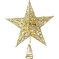 Biwinky yılbaşı yıldızı Noel ağacı Spitze takı Deko 25* 20cm