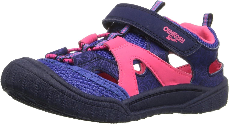 OshKosh BGosh Toddler and Little Girls Atka Bump Toe Sandal