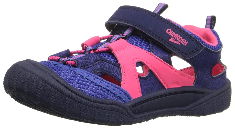 OshKosh B'Gosh Drift-G Boy's and Girl's Bump Toe Sandal (Toddler/Little Kid) OshKosh B' Gosh DRIFT-G - K