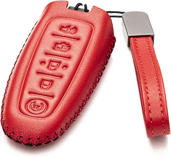Be sure check key shape and our pictures before you buy Real leather Keyless Smart Key Case Cover Trim for part of BMW F10 F20 F30 F13 F01 F25 3 or 4 buttons 1 3 5 7 series