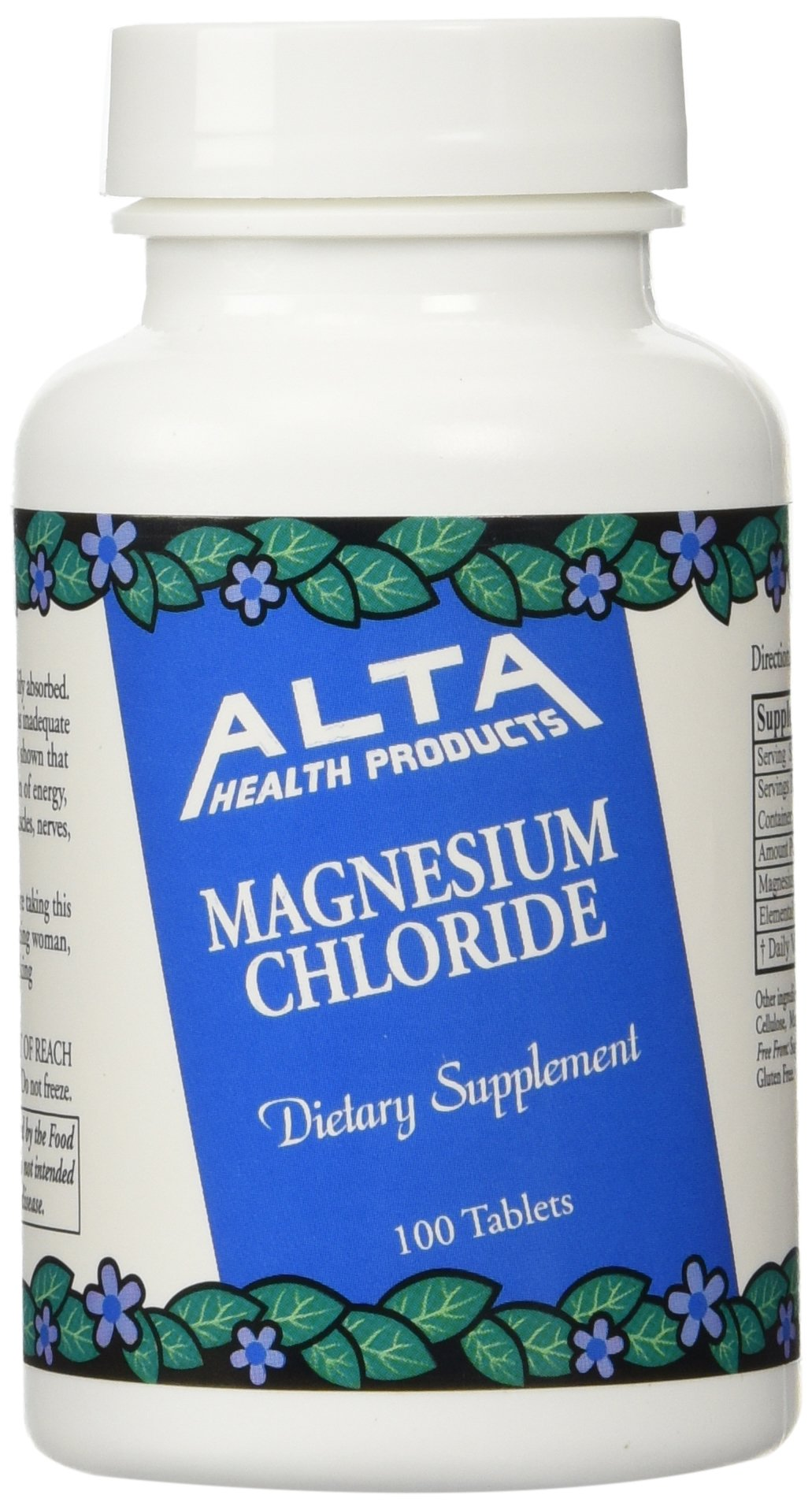 Alta Health Alta health Magnesium Chloride 100 (Pack of 2), 100 Count