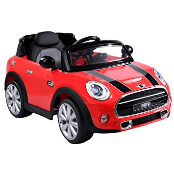 Amazon Com Costzon Ride On Car Licensed Bmw Mini Cooper Electric