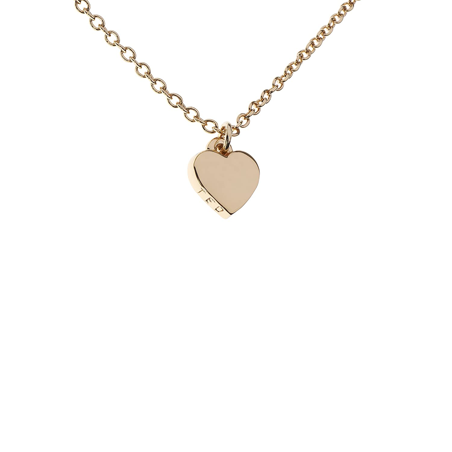 gold mini runwaycatalog pink products vanrycke com heart necklace