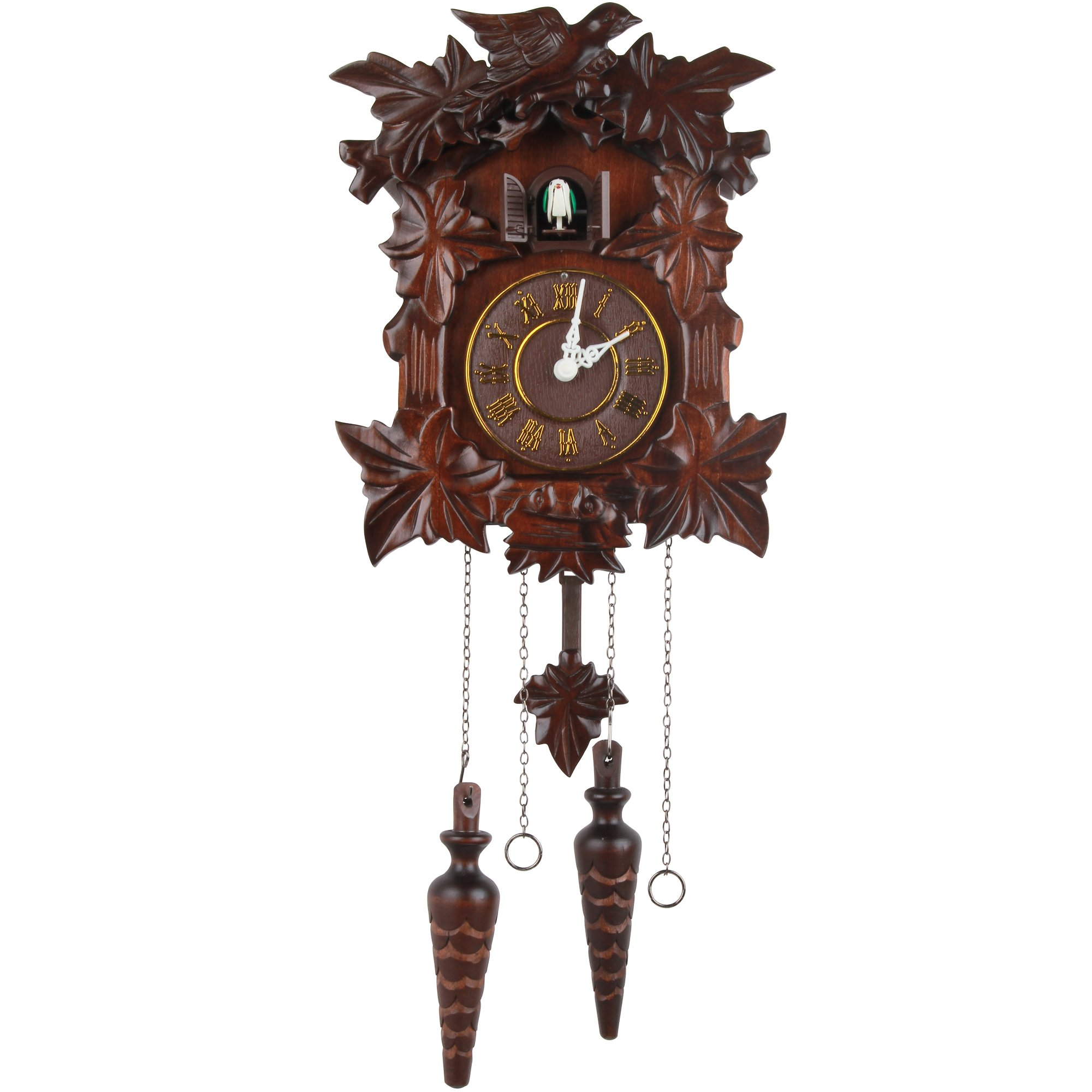 Kendal Handcrafted Wood Cuckoo Clock MX313 by Kendal