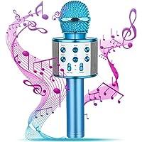 dmazing Wireless Bluetooth Karaoke Microphone Portable Handheld