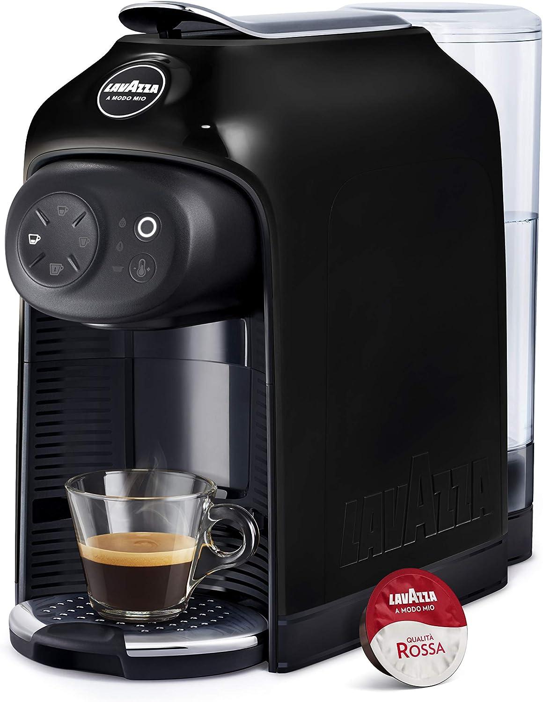 Lavazza - Cafetera Lavazza a Modo Mio - Modelo Idola, 1500 W de potencia, capacidad 1,1 litros Máquina de café Black Ink: Amazon.es: Hogar