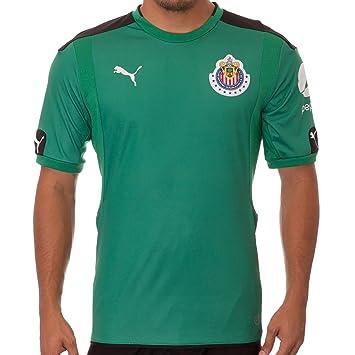 buy popular 00fb2 1cf6d Puma Chivas Goalkeeper SS Jersey Green, Jerseys - Amazon Canada