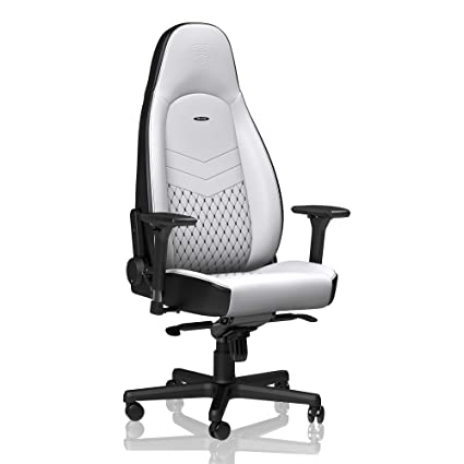 noblechairs ICON Gaming Chair - Office Chair - Desk Chair - PU Faux Leather - Ergonomic - Cold Foam Upholstery - 330 lbs - Racing Seat Design - ...