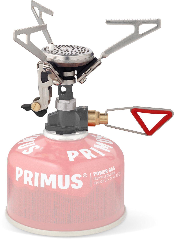 Primus Kocher Microntrail mit Piezozündung und Regulierung - Gas Campingkocher