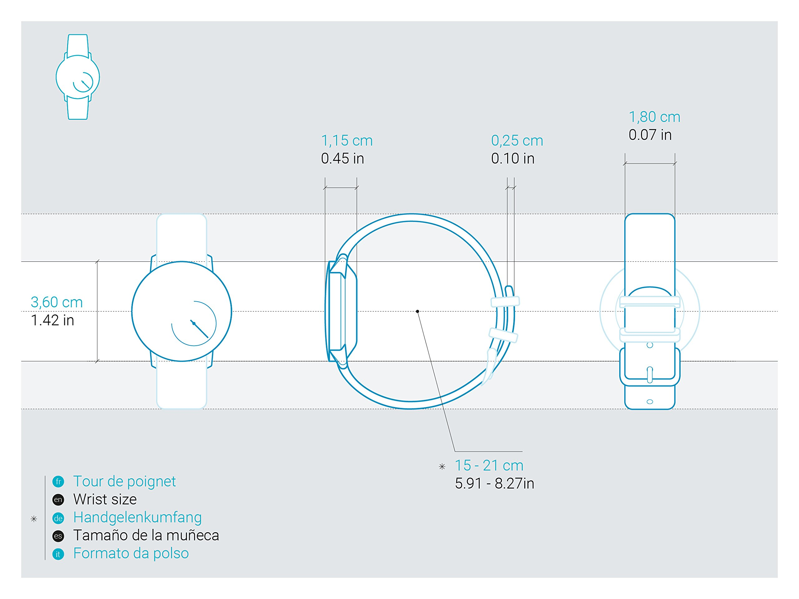 Withings Actività Steel - Activity and Sleep Tracking Watch by Withings (Image #8)