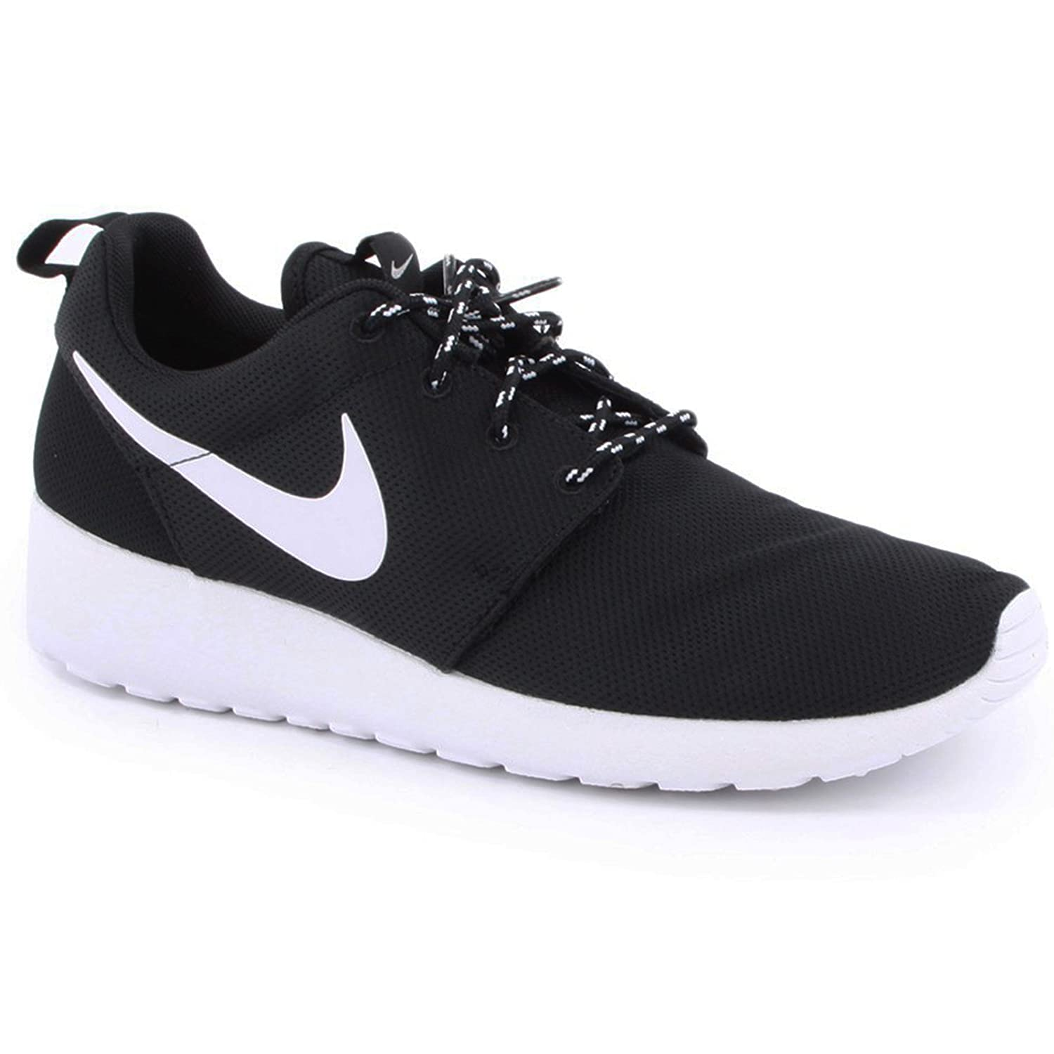 pretty nice 7dc98 452ee Nike Roshe Run Black White Womens Trainers Size 7 UK  Amazon.co.uk  Shoes    Bags