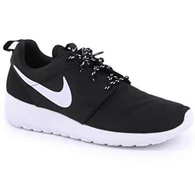 Nike Roshe Run Black White Womens Trainers Size 6 UK  Amazon.co.uk c843bf0f07