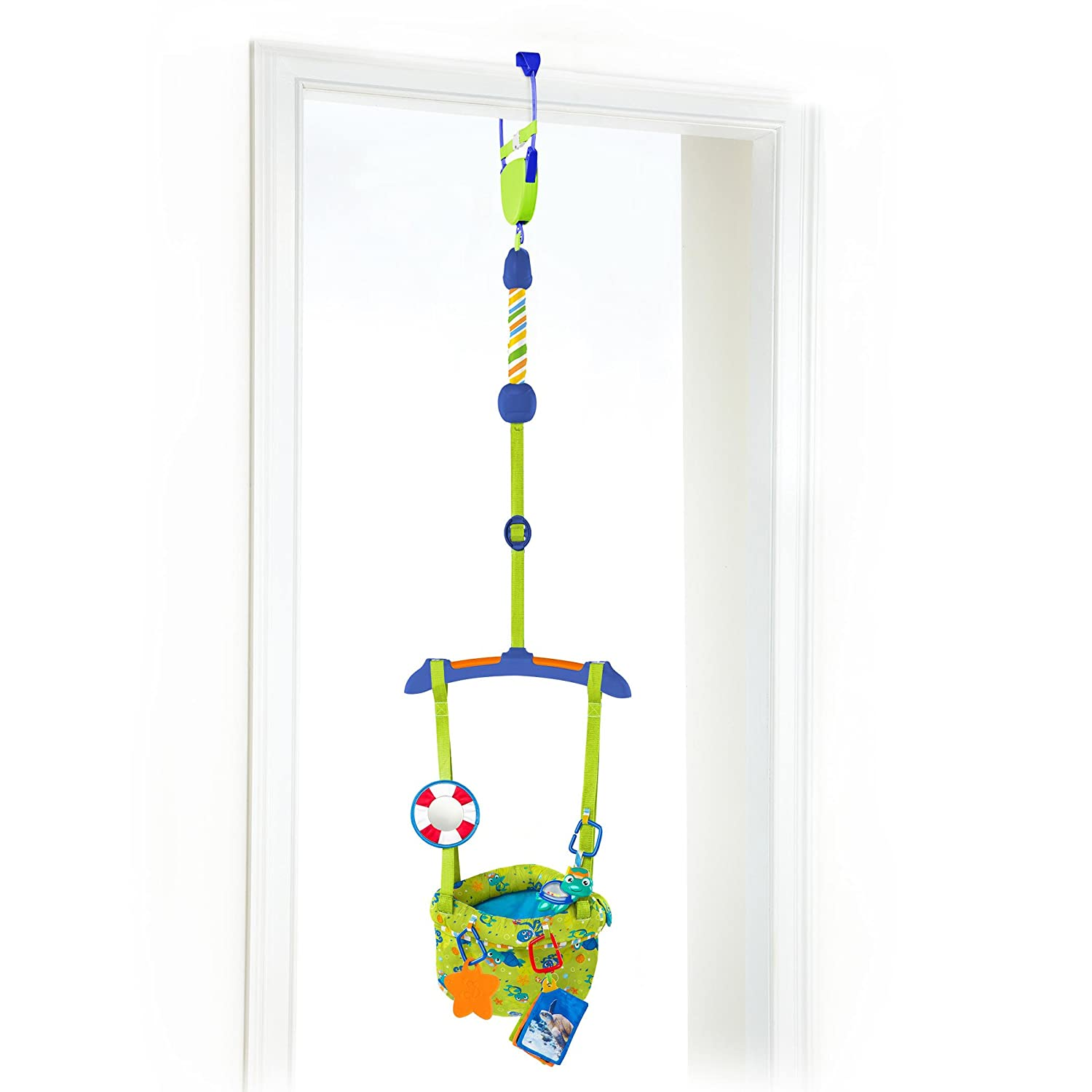 Baby Einstein Sea and Discover Door Jumper, Green/Blue/White KidsII 10235