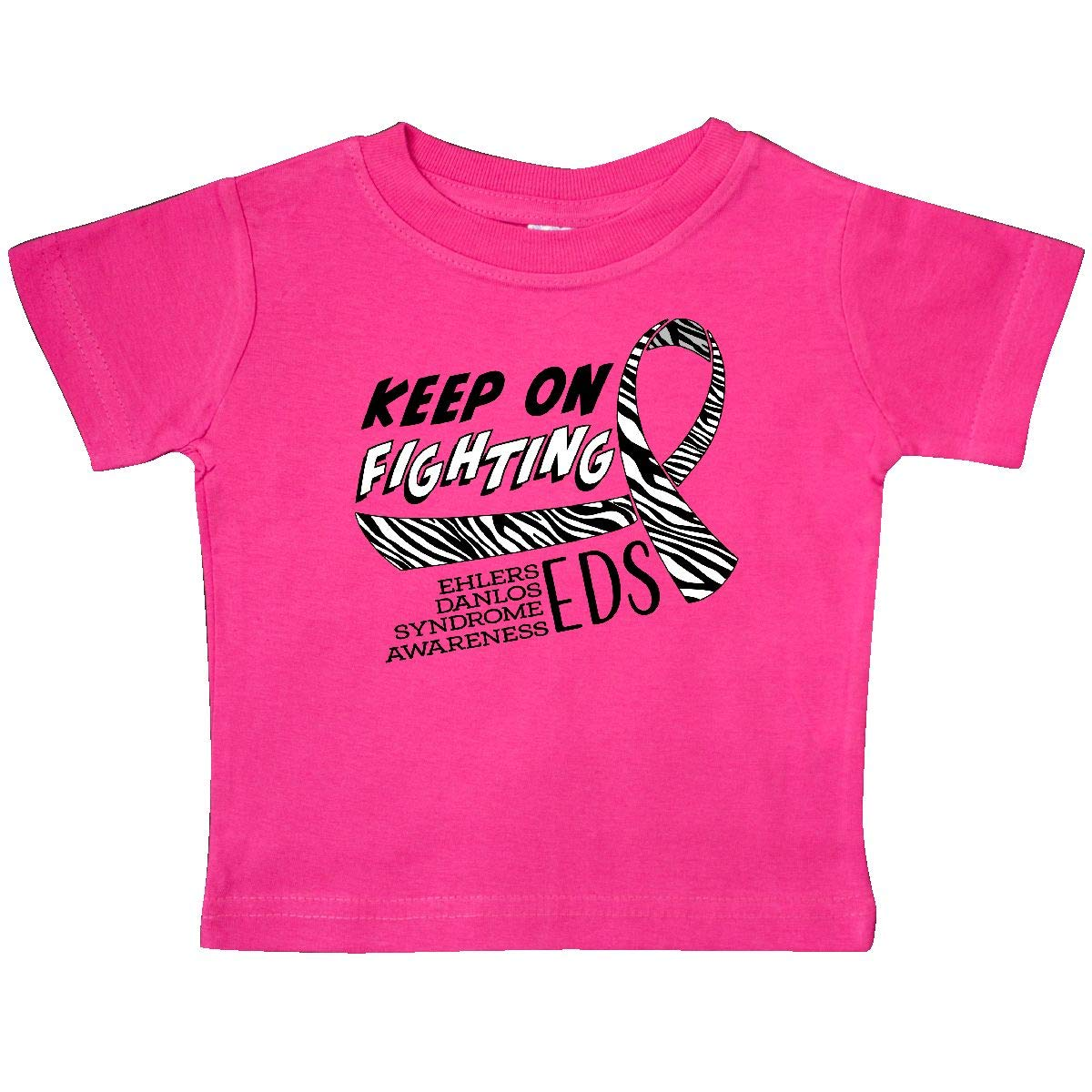 inktastic Keep on Fighting Ehlers Danlos Syndrome Awareness Baby T-Shirt