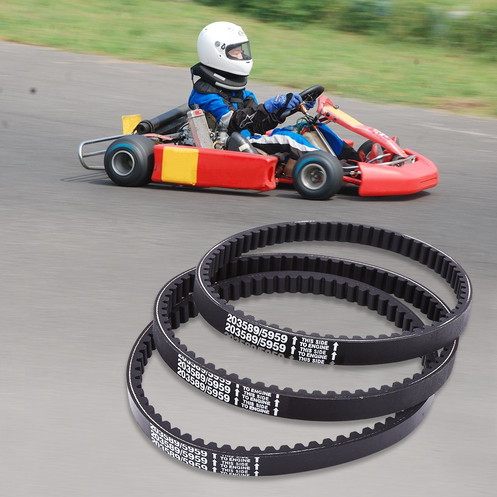 Drive Clutch Belt,30 Series Go Kart Drive Belt for Replaces Manco ...