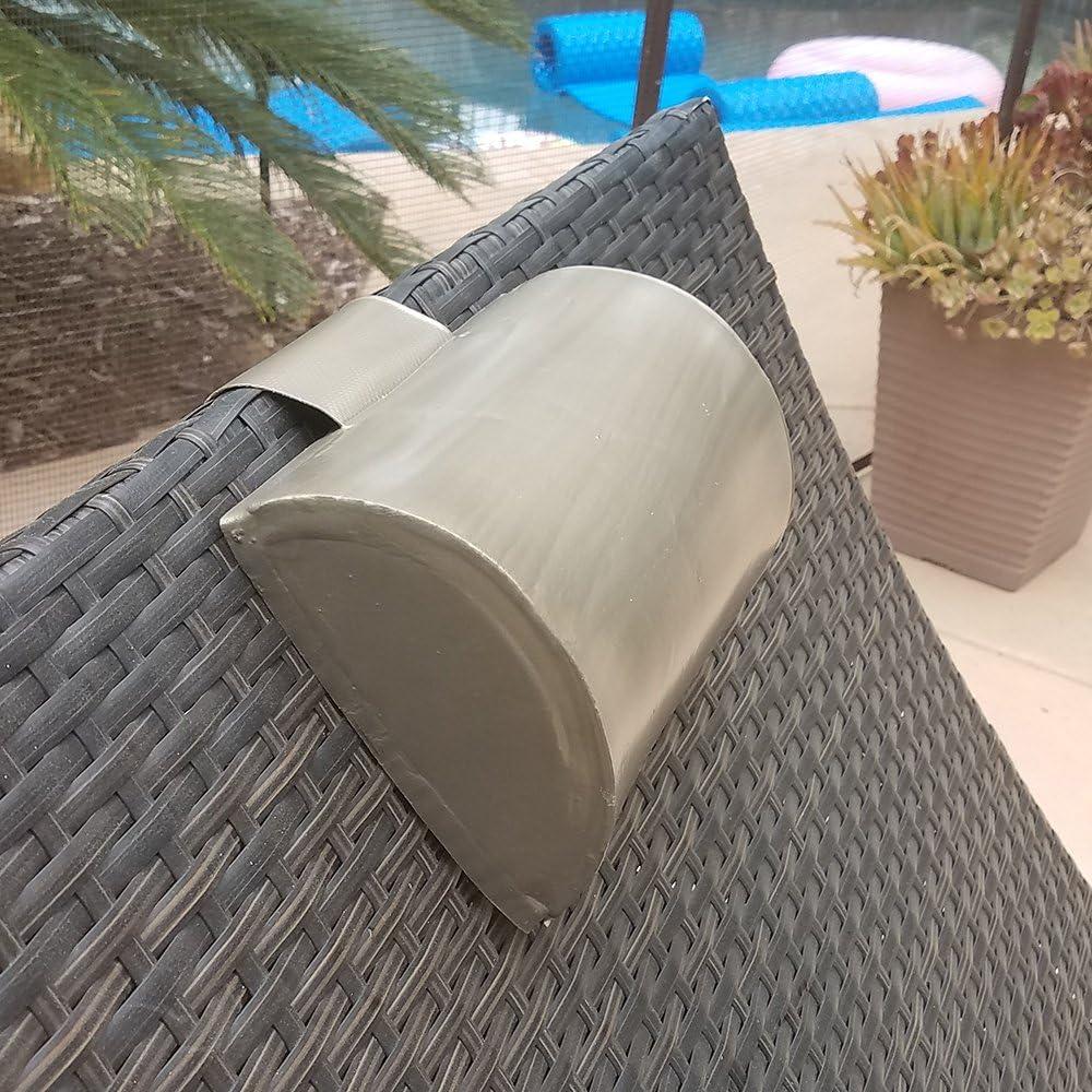 California Sun Deluxe Weighted Super Soft Spa Pillow Cushion Aquamarine