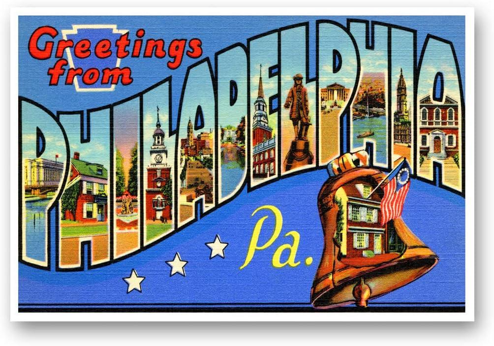 Vintage 1930/'s Philadelphia Pennsylvania Postcard Book