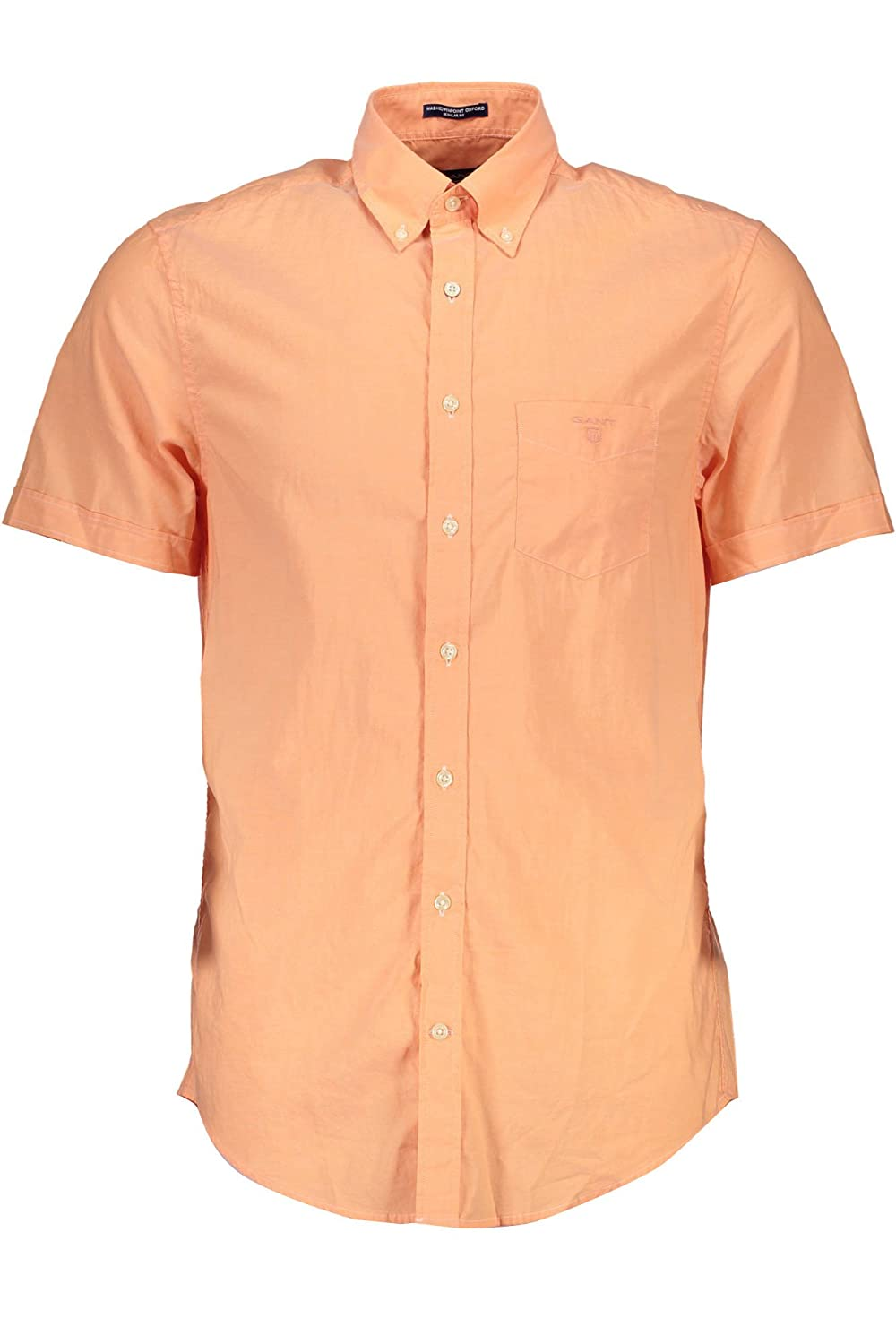 Gant The Washed Pinpoint Oxford SS BD, Camicia Uomo 347301