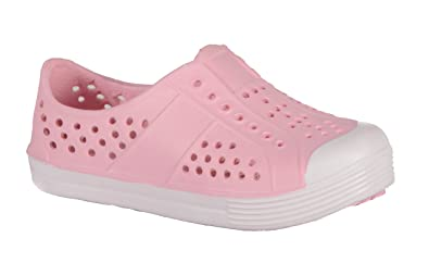 fb88f01f5e11 SKIDDERS Toddler Girls EVA Water Slip-on Lightweight Shoes Style SK1106 (7)