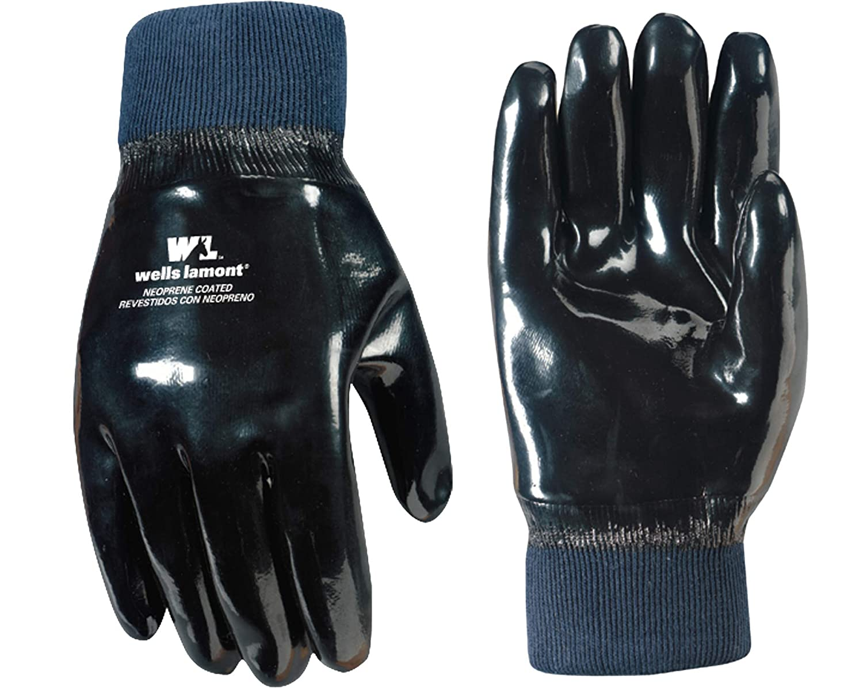 Wells Lamont Work Gloves, Neoprene Coated, One Size (190)