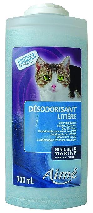 Aimé 833061 Desodorante para Arena para Gatos - 700 ML: Amazon.es: Productos para mascotas