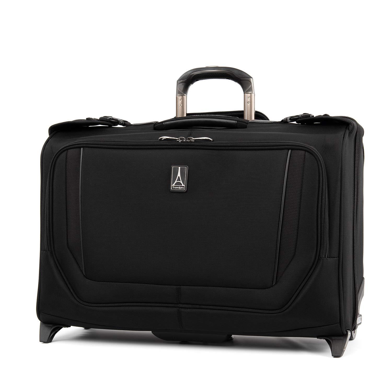 Travelpro Crew Versapack Carry-on Rolling Garment Bag, Jet Black