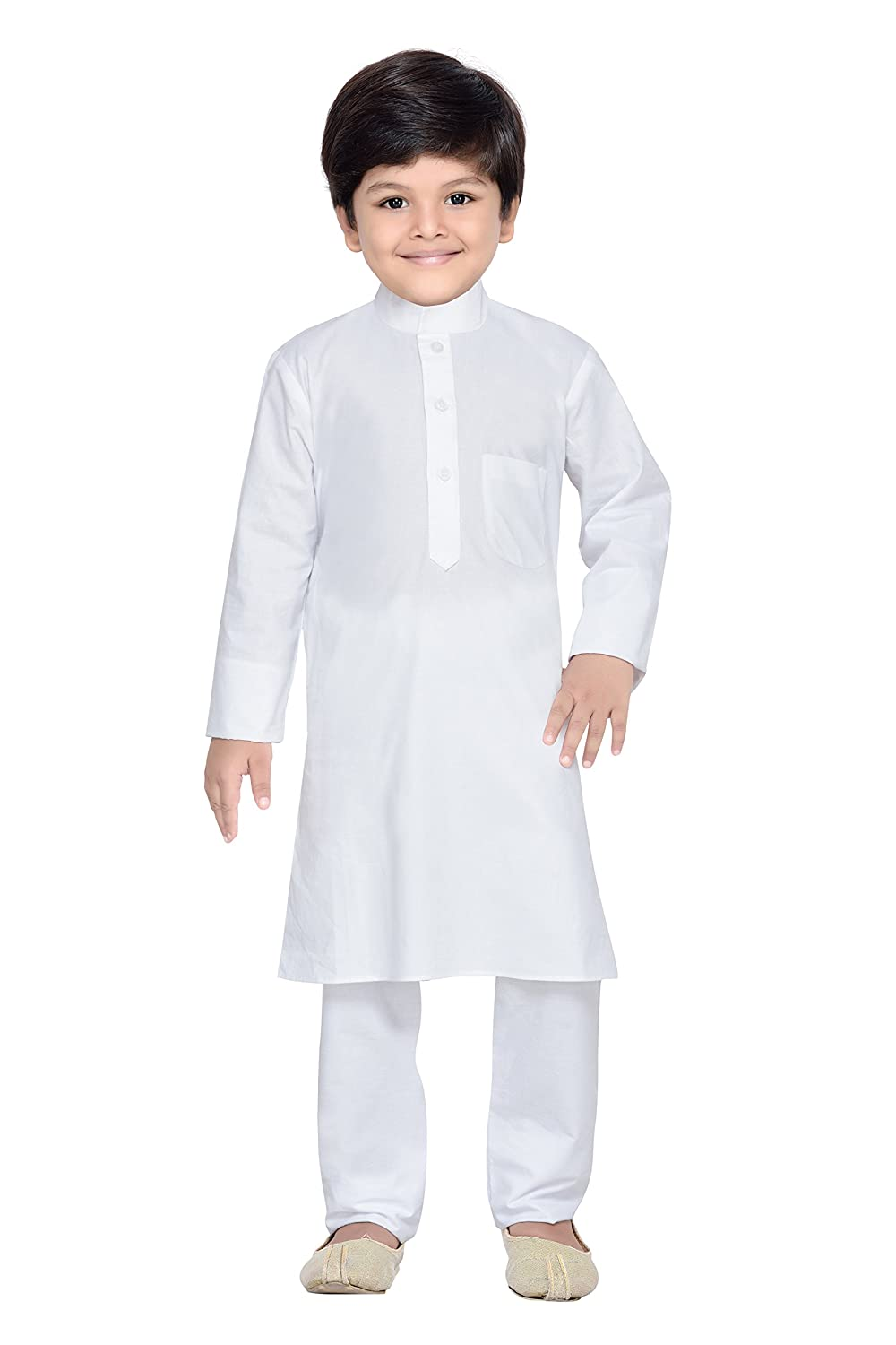 AJ Dezines Kids Indian Wear Bollywood Style Kurta Pyjama for Boys 687-$P
