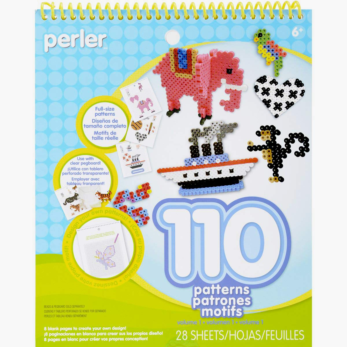 Perler Beads Patterns And Idea Book For Kid S Crafts 28 Pgs