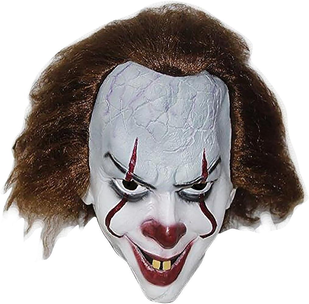 COMLZD Máscara de Payaso de la película de Pennywise para Disfraz ...