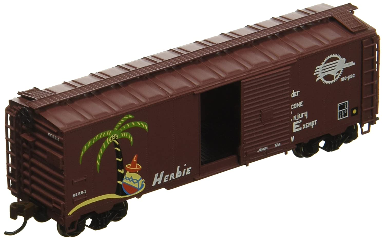 Bachmann Industries Missouri Pacific Herbie AAR Steel Box Car (N Scale), 40' 40' Bachmann Industries Inc. 17060