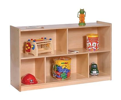 Amazoncom Steffy Wood Products Deep Single Mobile Storage Cabinet