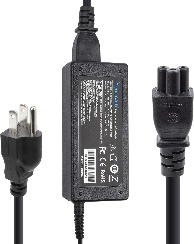 "Xenocam 19V Ac Adapter for HP-Pavilion 20"" 21.5"" 23"" 23.8"" 25"" 27"" IPS LED Backlit Full HD Display Monitor Series: 27 27xw 27xi 27er 27es 25 24ea 25xw 25bw 25xi 22cwa 23cw 23tm 23xi 20xi Power Supply"