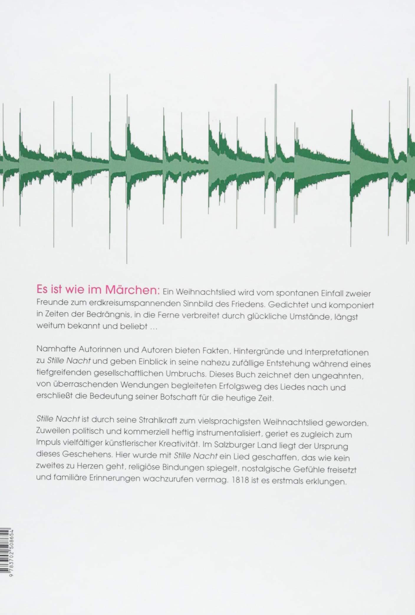 Stille Nacht: Das Buch zum Lied: Amazon.de: Thomas Hochradner ...