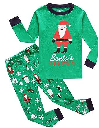 toddler christmas pajamas big boys pjs cotton kids sleepwear clothes size 2t
