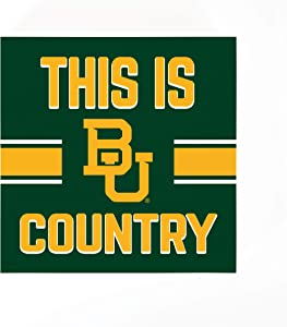 P. Graham Dunn This is Baylor University Country 5.5 x 5.5 MDF Wood Tabletop Block Sign