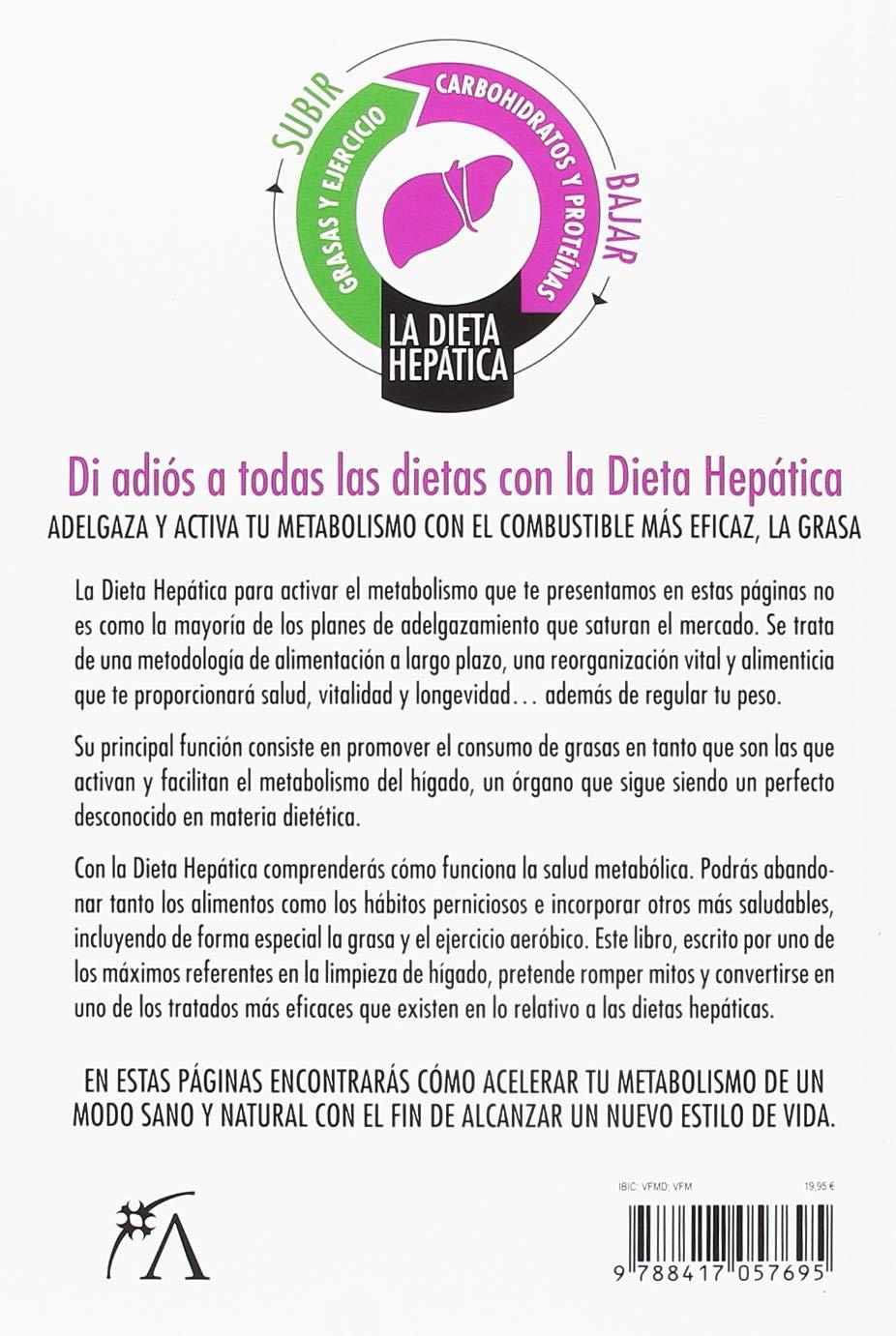 La dieta hepática (Salud): Amazon.es: Carlos de Vilanova: Libros