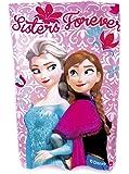 Disney Frozen Fleece Blanket Sisters Forever Pink