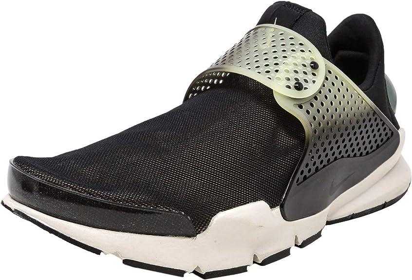 Descubrimiento Sucio Enriquecimiento  NIKE Sock Dart SE PRM, Black / Bio Beige-light Bone, 12 D(M) US:  Amazon.co.uk: Shoes & Bags