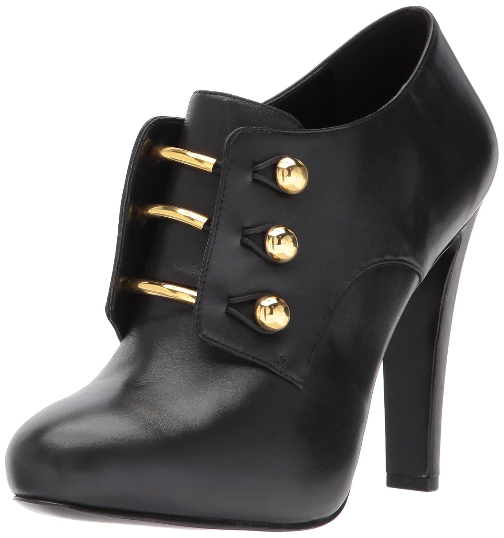 Nine West Women's Brianny Ankle Boot B06WVC1L2N 10 B(M) US Black Leather