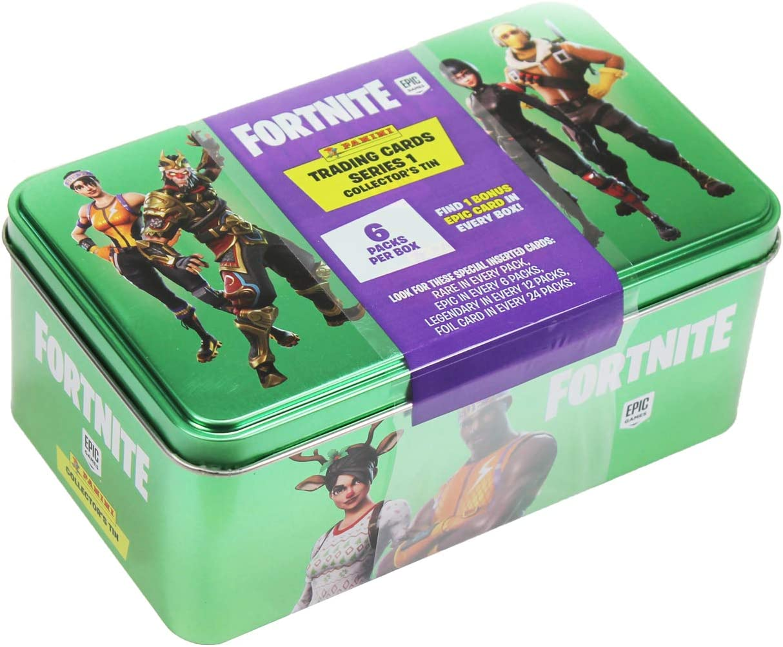 PANINI Fortnite TRADING CARDS série 1-Mega Blaster Box 12 booster 2 X FOIL