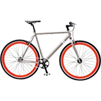 Solé Bicycles Single Speed/Fixed Gear Urban Commuter Bike, Multiple Sizes, Multiple Colors