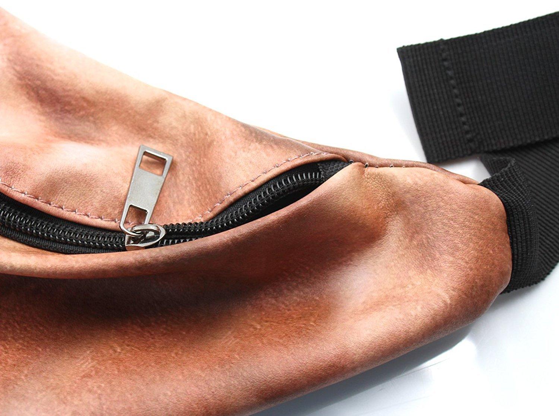 DadBag Fanny Pack-3D Print Fake Belly Packs Waist Zipper Belt bags