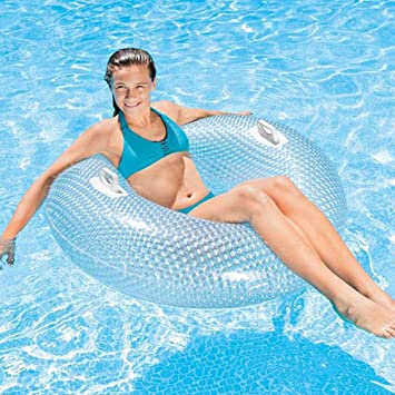 Amazon.com: AMhuui - Anillo hinchable de piscina, flotador ...